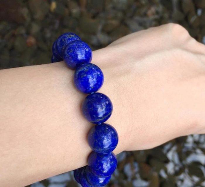 vòng tay đá lapis lazuli