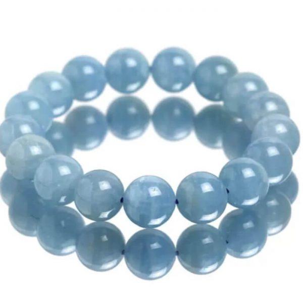 vòng tay phong thủy đá aquamarine-1