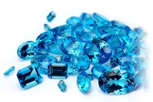 Vòng tay phong thủy đá aquamarine