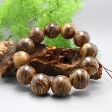 Vòng tay gỗ đàn hương vằn da hổ